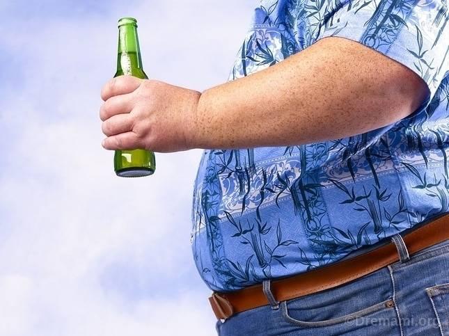 مصرف الکل و چاقی