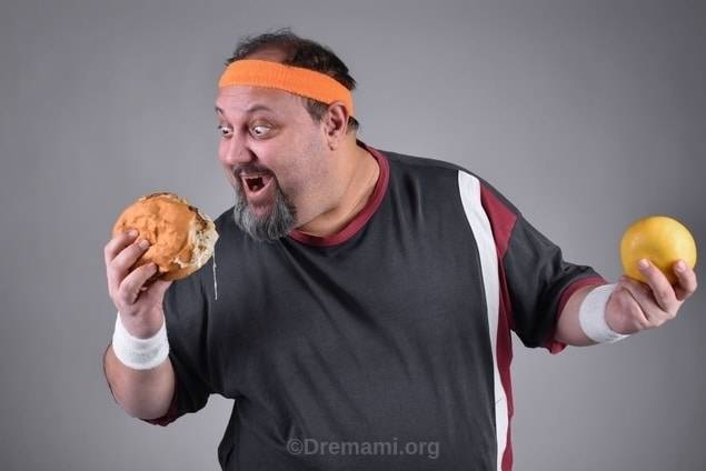 تغذیه ناسالم و چاقی شکمی