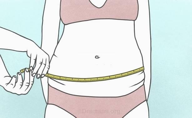 نحوه اندازه گیری چاقی شکمی