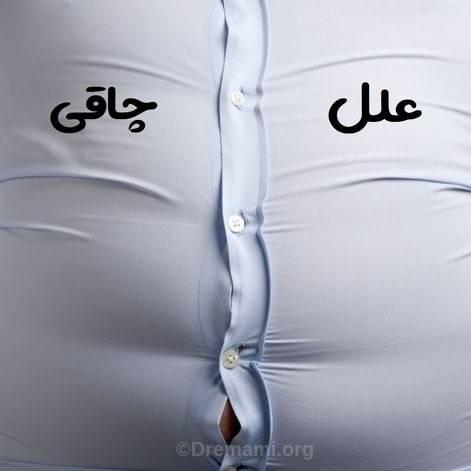 علت چاقی و اضافه وزن